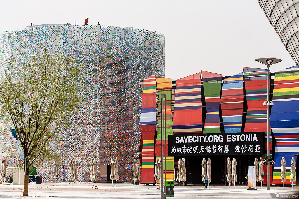 Estonian pavilion in EXPO2010