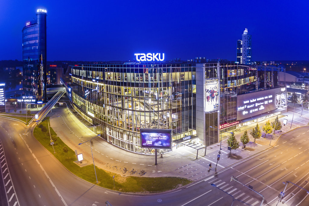 Tasku shopping center in Tartu, Estonia