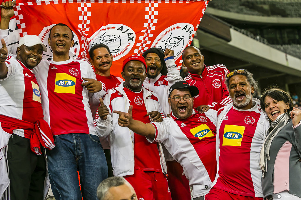 Fans of Cape Town Ajax