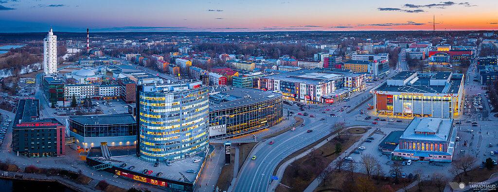 City center of Tartu