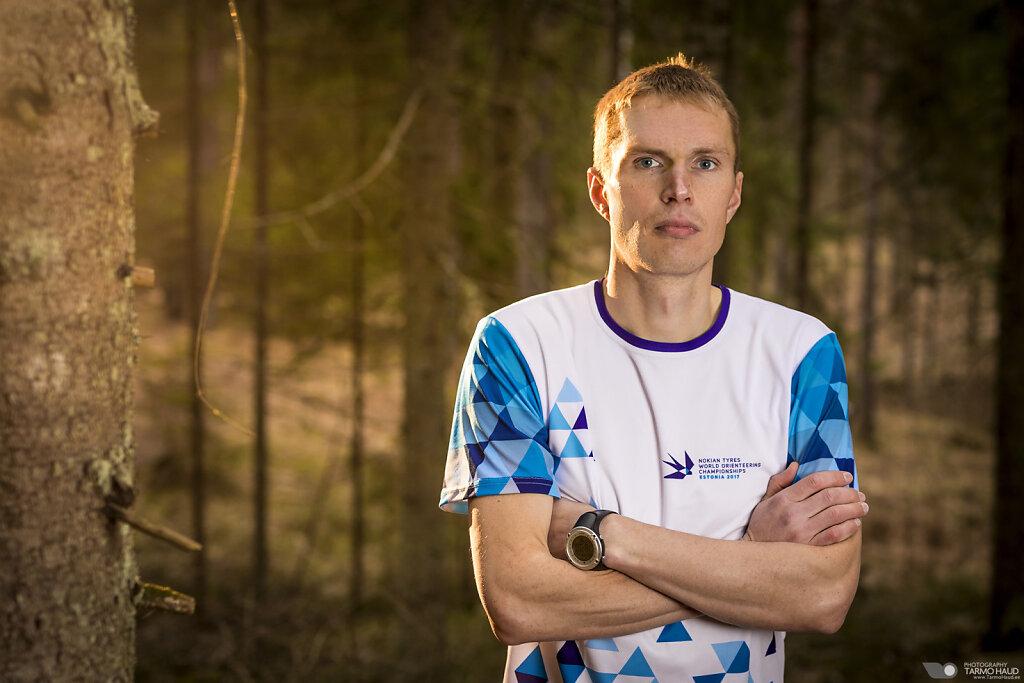 WOC 2017 - Team Estonia - Sander Vaher