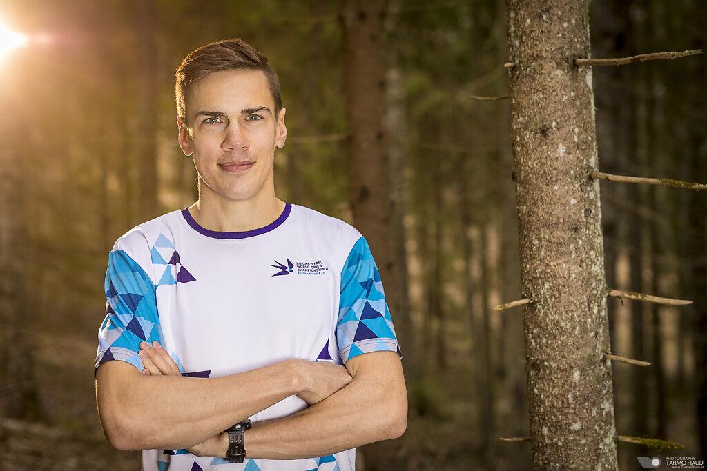WOC 2017 - Team Estonia - Kenny Kivikas