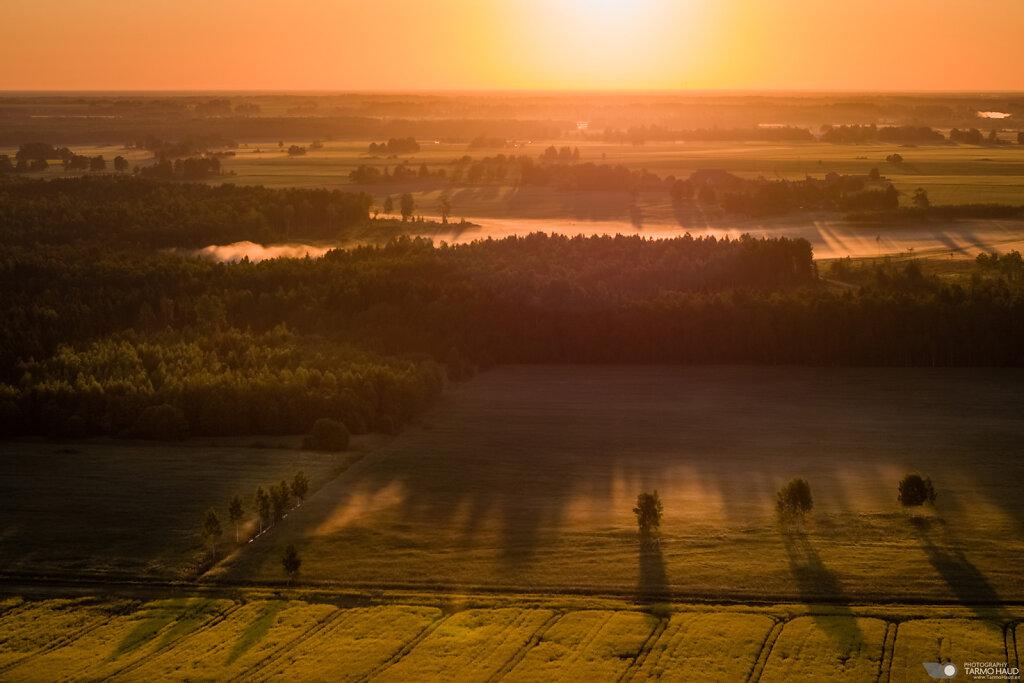 Sunrise at Kuremaa